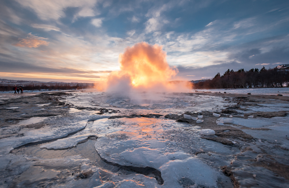 Golden Circle IJsland Geisers Geysir